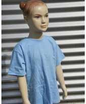 Kinder t-shirt lichtblauw 10041634