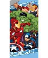 Marvel avengers badlaken strandlaken 70 x 140 cm