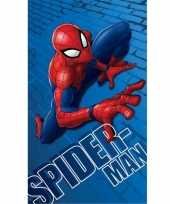 Marvel spiderman badlaken strandlaken 70 x 120 cm
