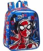 Marvel spiderman school rugtas rugzak 27 cm voor peuters kleuters kinderen