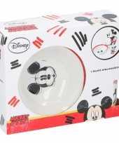 Mickey mouse 3delige ontbijtset voor kinderen keramiek