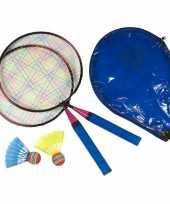 Mini badminton set voor kinderen