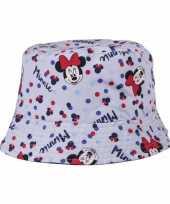Minnie mouse vissershoedje voor kinderen