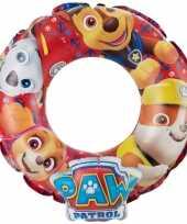 Paw patrol 3d zwemband zwemring 50 cm voor kinderen