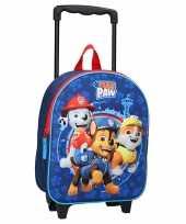 Paw patrol handbagage reiskoffer trolley 32 cm voor kinderen