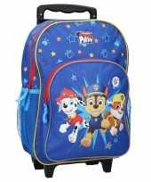 Paw patrol handbagage reiskoffer trolley 38 cm voor kinderen