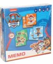 Paw patrol memory spel speelgoed voor jongens kinderen