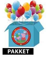 Peppa big kinderfeest pakket