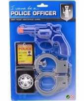Politie speelgoed verkleed accessoire set voor kinderen