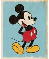 Poster mickey mouse retro 40 x 50 cm