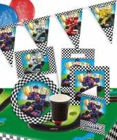 Race formule 1 thema kinderfeest pakket