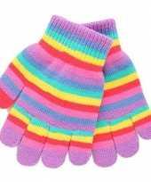 Regenboog kinder handschoenen
