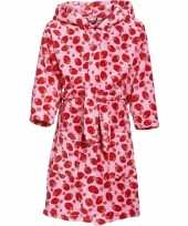Roze badjas aardbei voor meisjes