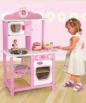 Roze speelgoed keuken 92 x 60 x 28 cm