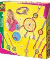 Sieraden dromenvanger hobby set voor kinderen