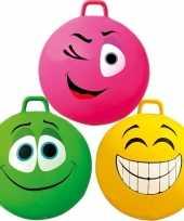 Skippybal smiley voor kinderen 70 cm