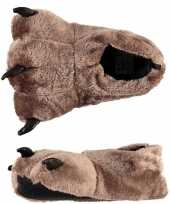 Sloffen pantoffels beer voor kinderen mt 31 32