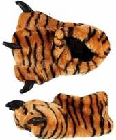 Sloffen pantoffels tijger voor kinderen mt 33 34