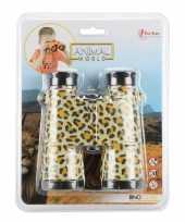 Speelgoed verrekijker voor kinderen luipaard panter print