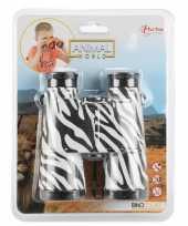 Speelgoed verrekijker voor kinderen zebra print
