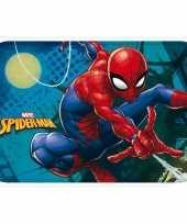 Spiderman kinder slaapkamer speelkleed vloerkleed 40 x 60 cm