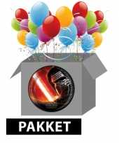 Star wars versiering kinderfeest pakket
