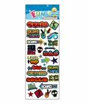 Stickervel graffiti stijl