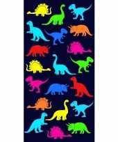 Strandlaken badlaken dinosaurus print dino 70 x 140 cm