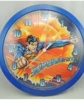 Superman klok 26 cm