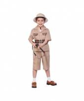 Voordelig safari kostuum voor kinderen