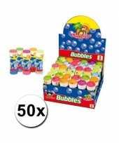 Voordelige bellenblazen set 50 stuks