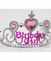 Zilveren verjaardags tiara voor kinderen