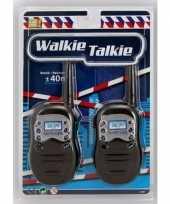 Zwarte walkie talkie voor kinderen